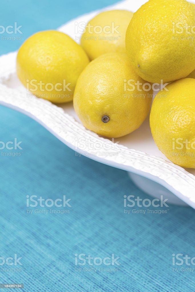 Fresh Lemons royalty-free stock photo