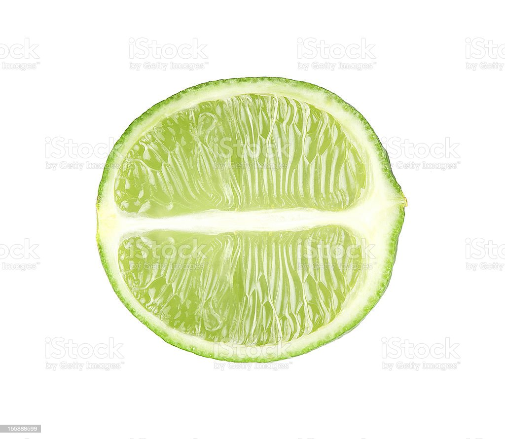 Fresh lime royalty-free stock photo