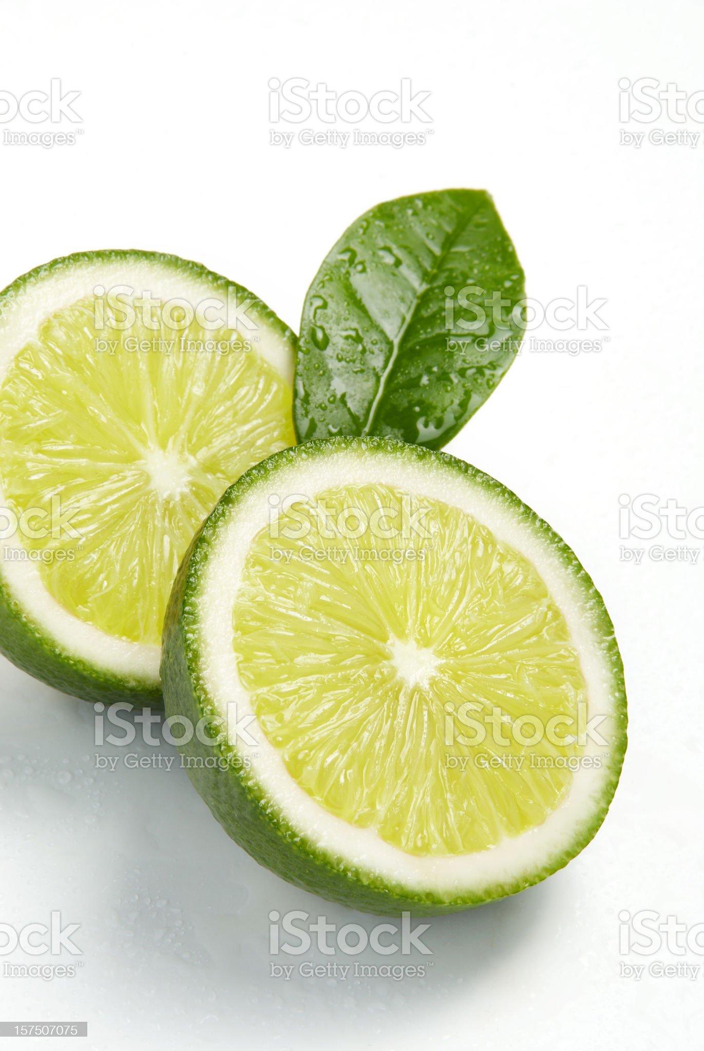 Fresh lime royalty-free stock photo