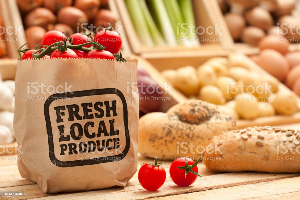 Fresh Local Produce stock photo