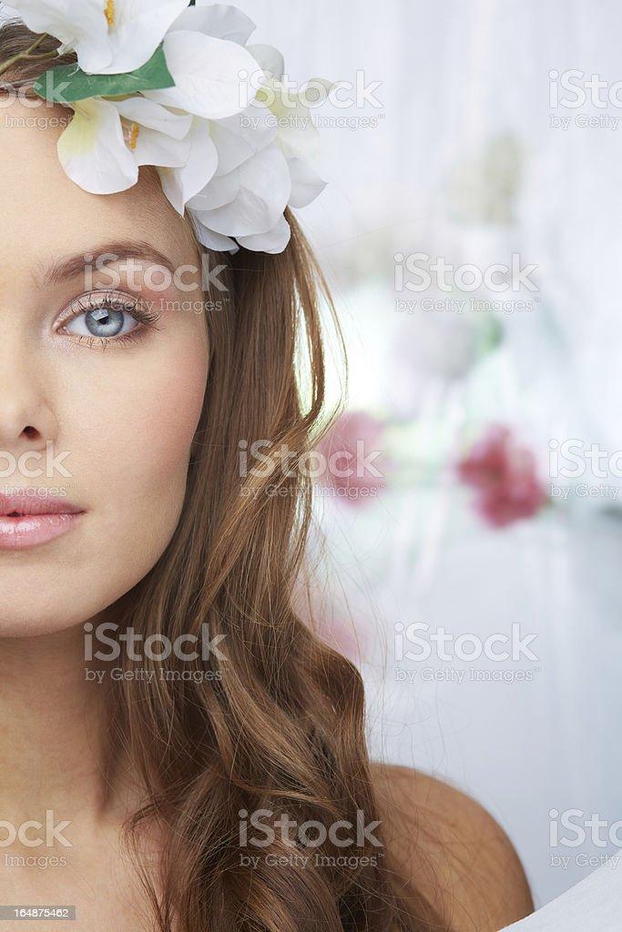 Fresh look royalty-free stock photo