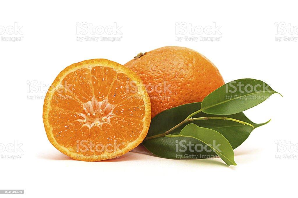 fresh mandarin fruits stock photo