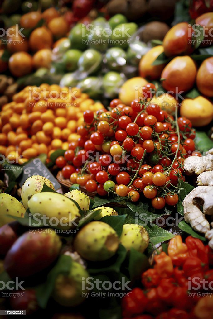 fresh market royalty-free stock photo