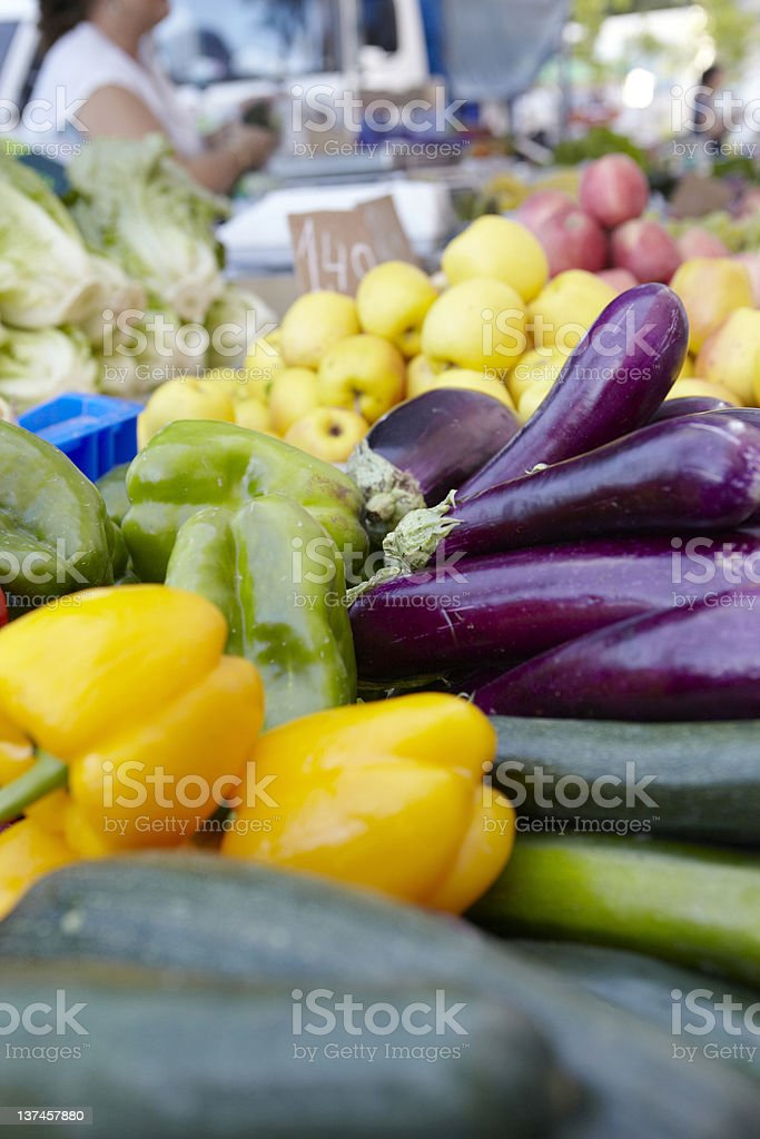 Fresh market produce royalty-free stock photo