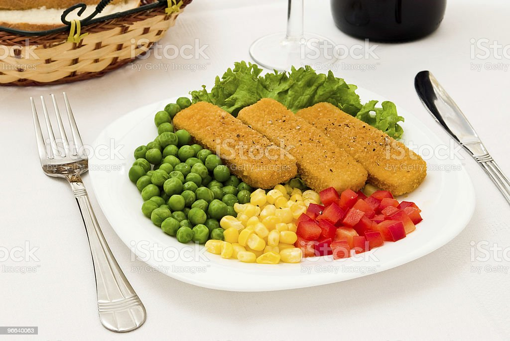Fresh meal royalty-free stock photo