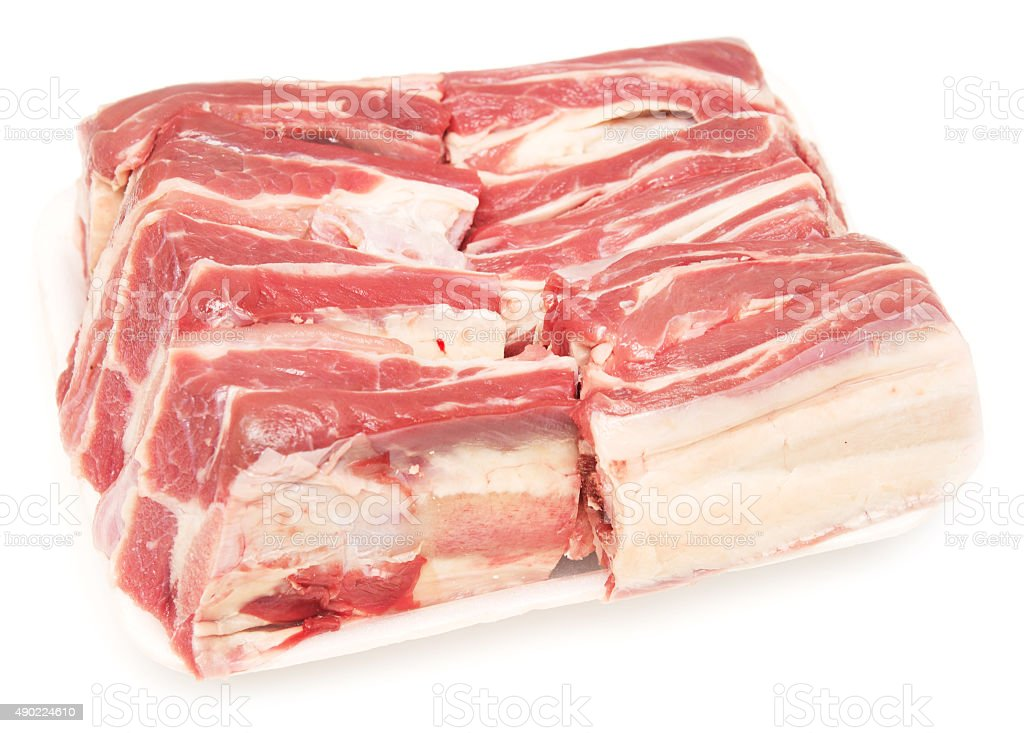 fresh meat stock photo