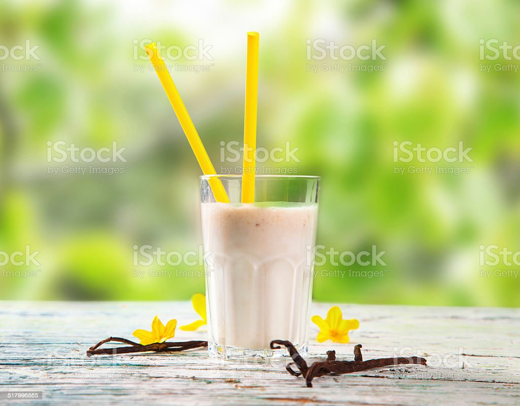 Fresh milk stock photo