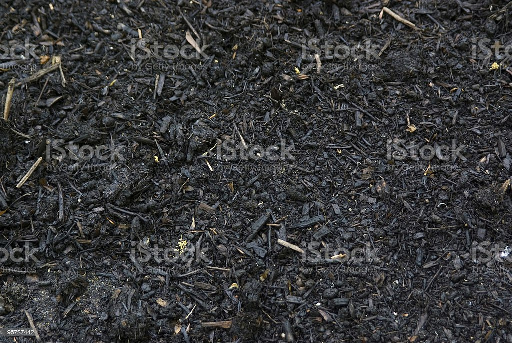 Fresh Mulch stock photo