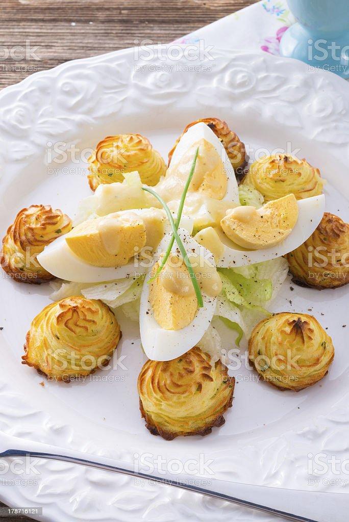 fresh mustard eggs royalty-free stock photo