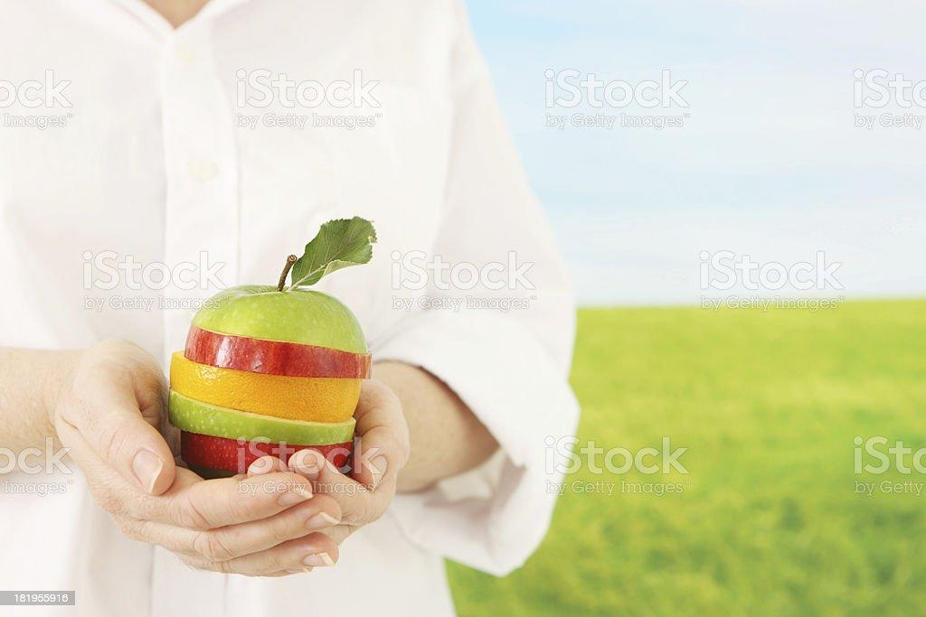 Fresh Natural Food royalty-free stock photo