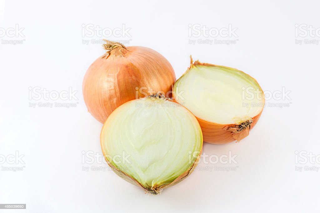 Fresh onion. stock photo