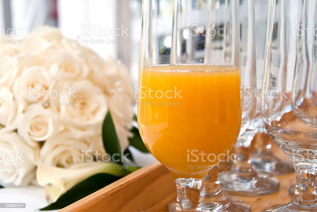 Jugo fresco de naranja foto de stock libre de derechos
