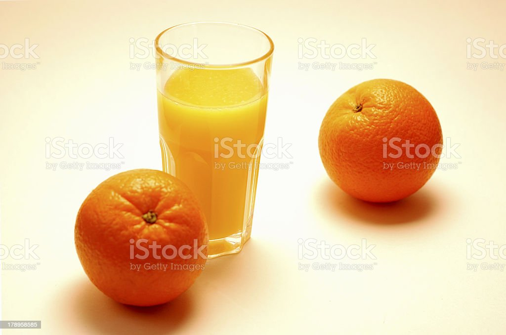 frischer Orangensaft royalty-free stock photo