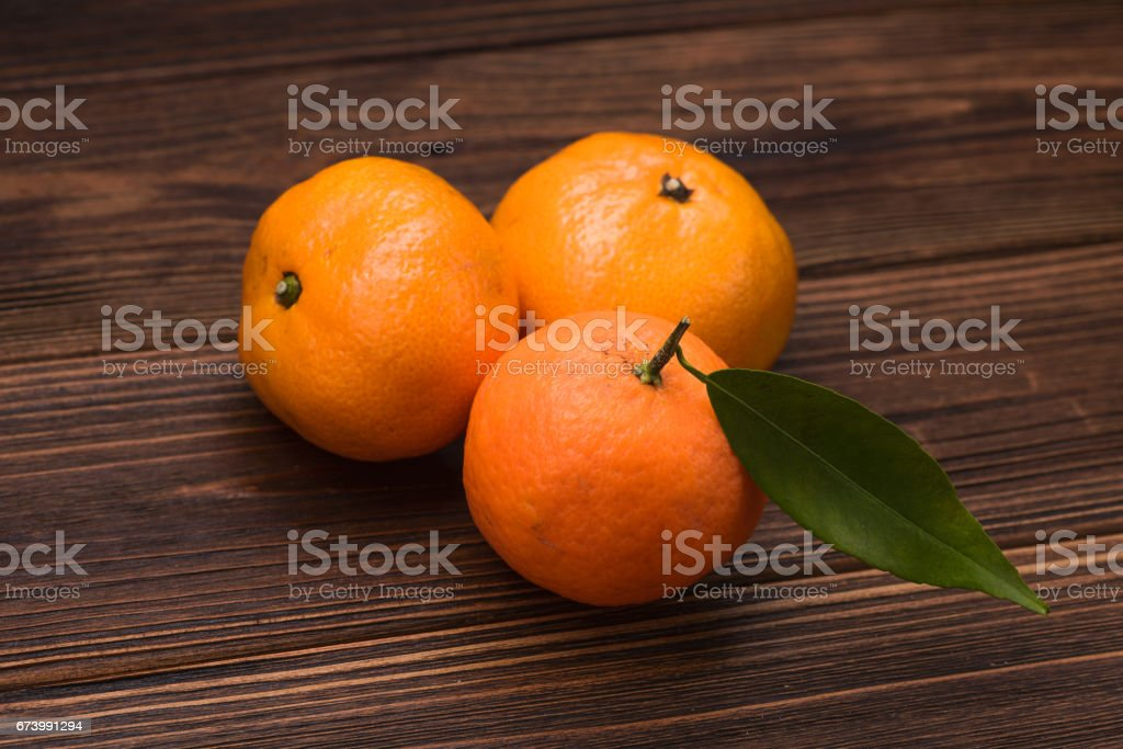 fresh orange mandarins stock photo