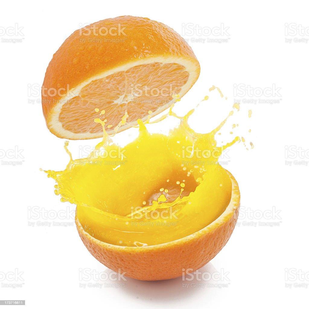 Fresh Orange Ready to Drink royalty-free stock photo