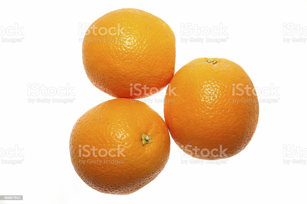 Fresh Oranges royalty-free stock photo