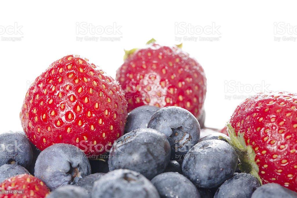 Fresh Organic Berries royalty-free stock photo
