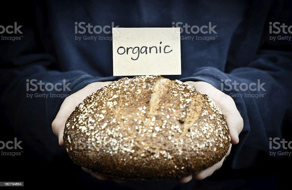 Fresh Organic Bread royalty-free stock photo