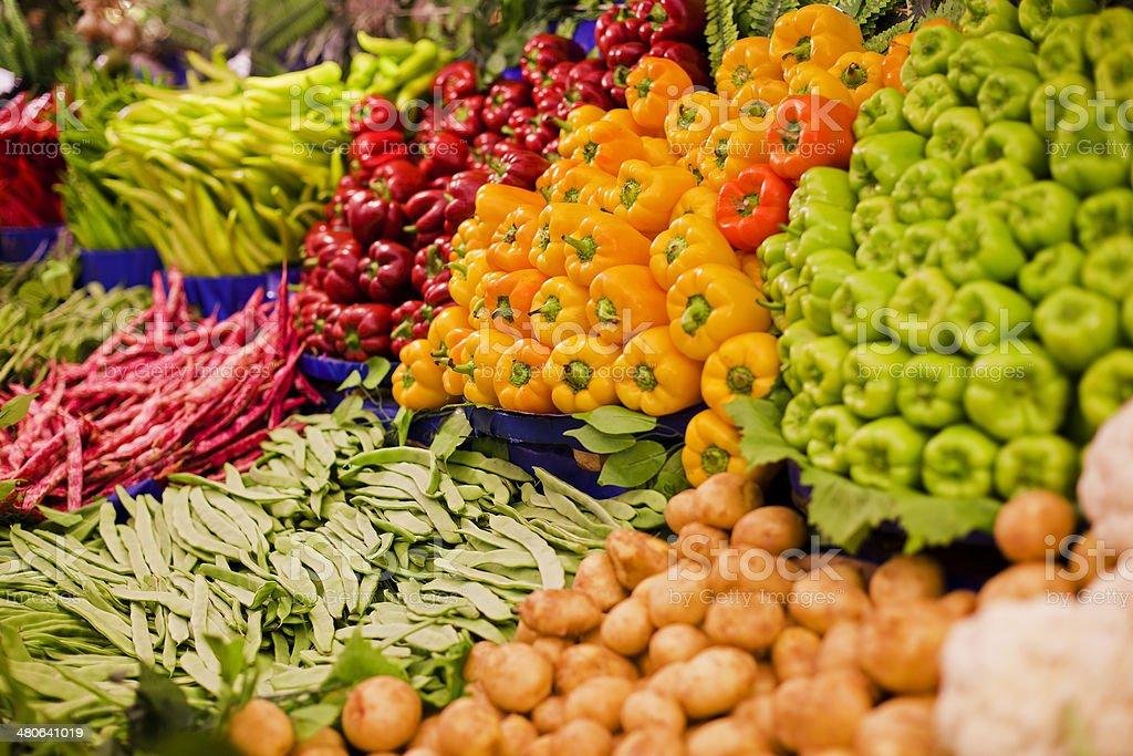 Fresh organic food royalty-free stock photo