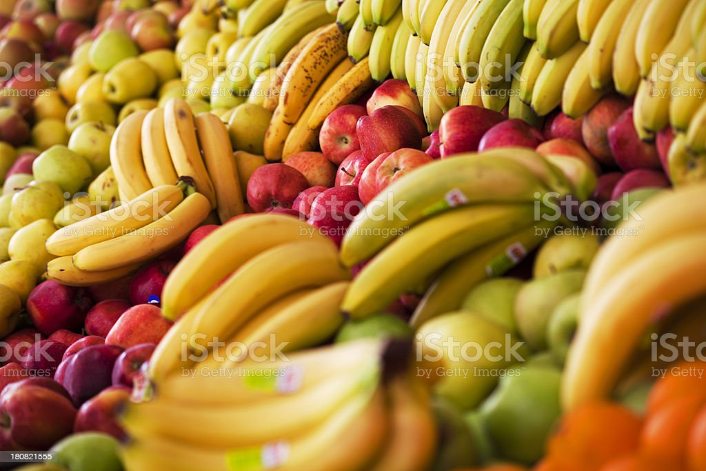Fresh organic fruits royalty-free stock photo