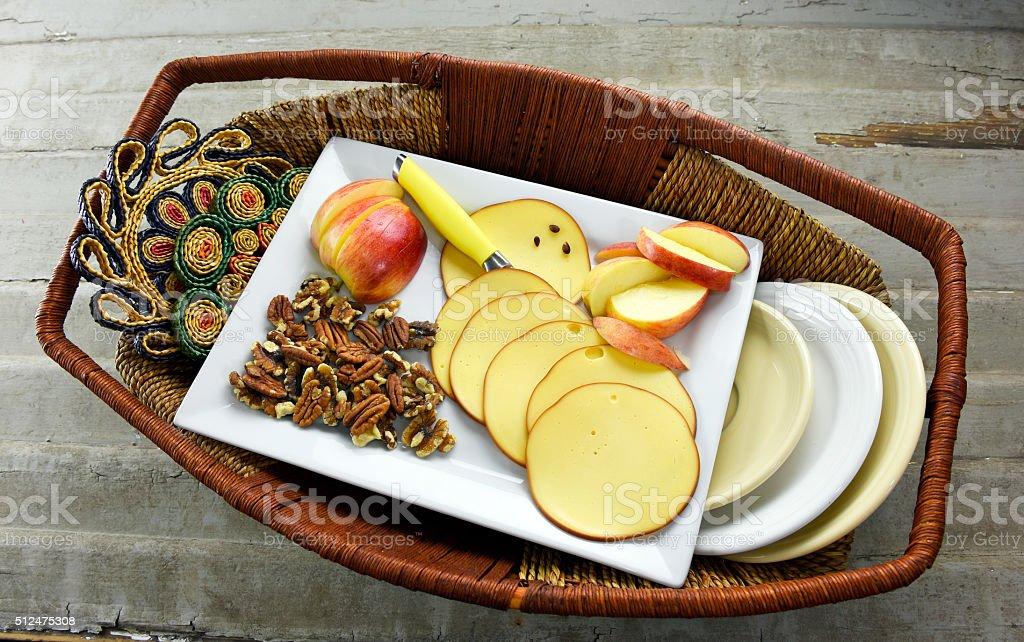 Fresh Organic Healthy Snack royalty-free stock photo