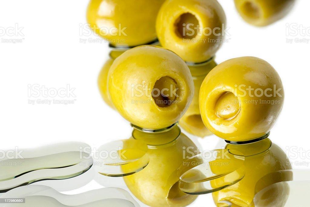 Fresh Organic Spanish Olives. royalty-free stock photo