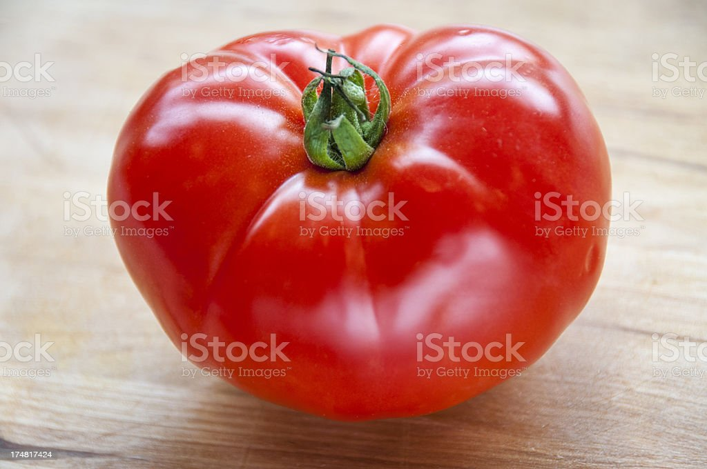 Fresh Organic Tomato royalty-free stock photo