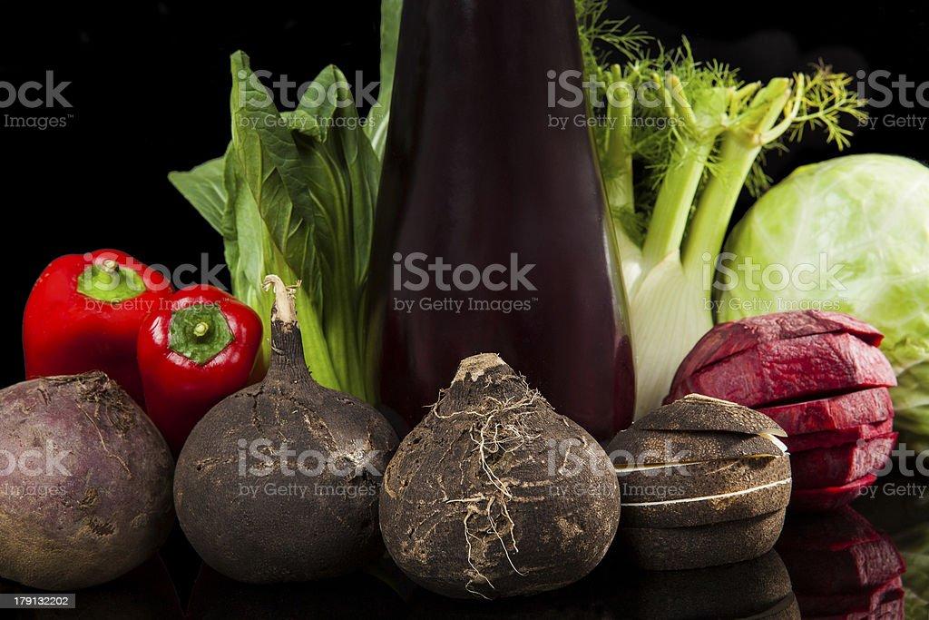 Fresh organic vegetable. royalty-free stock photo