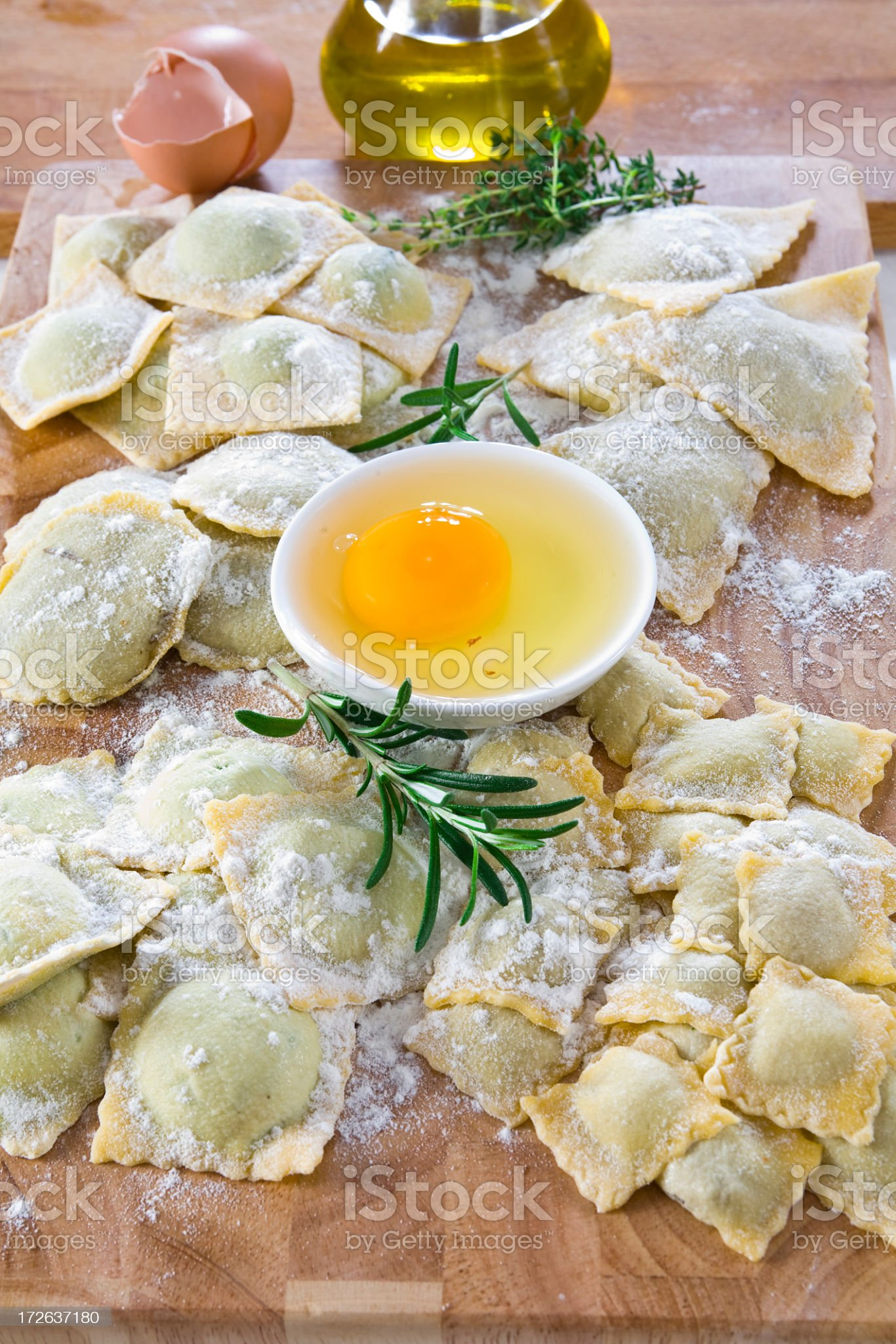fresh pasta royalty-free stock photo