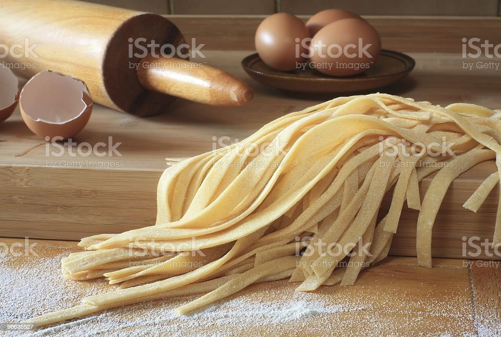 fresh pasta royalty-free stock photo