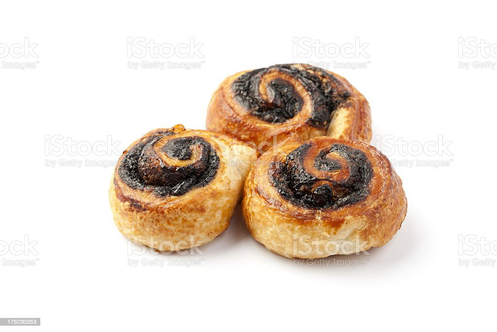 Fresh Pastry Product With Cocoa royalty-free stock photo