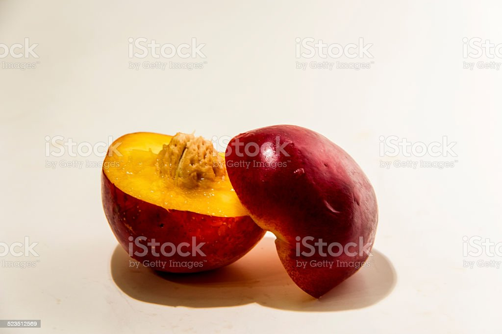 Fresh Peach stock photo