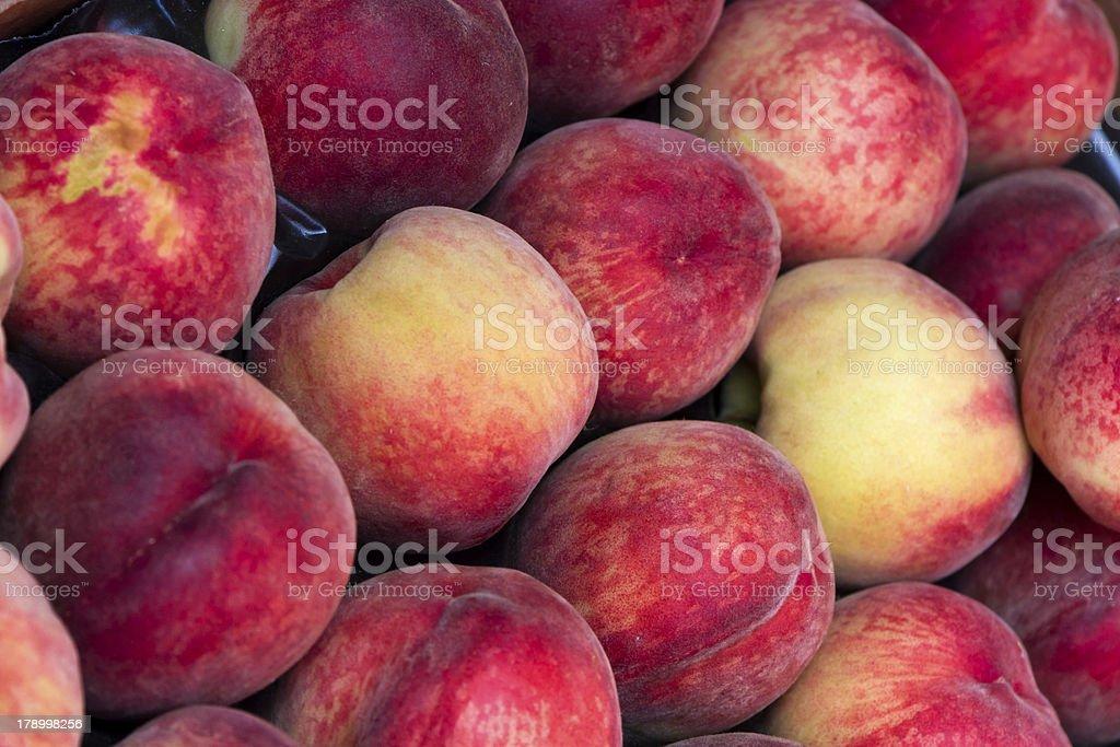 Fresh Peaches stock photo