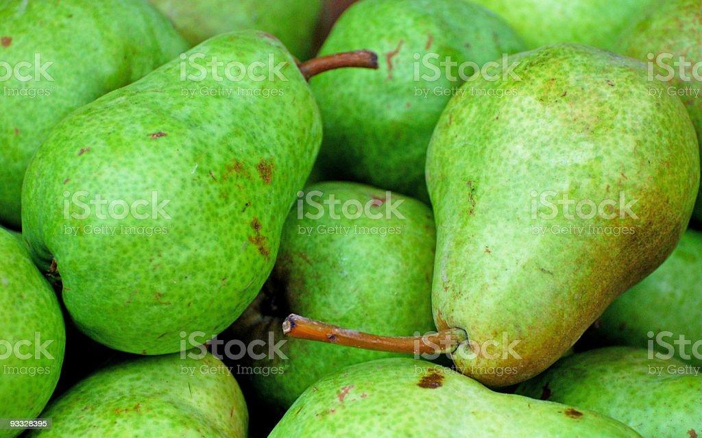 Fresh Pears royalty-free stock photo