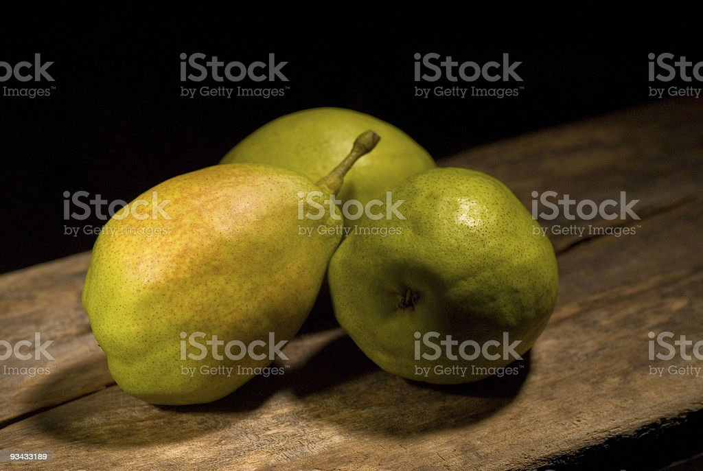fresh pears royalty-free stock photo