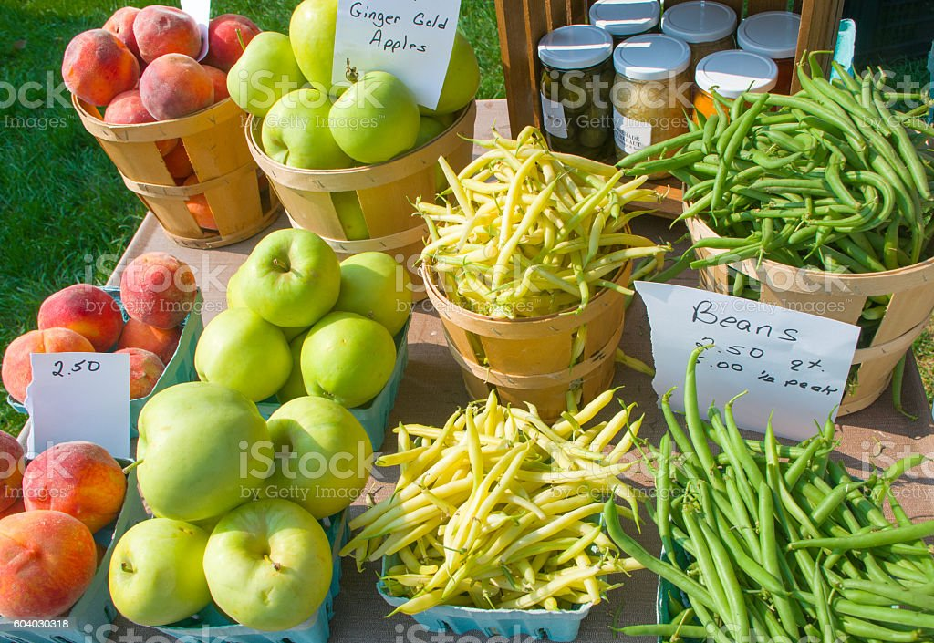 Fresh Pennsylvania Produce stock photo