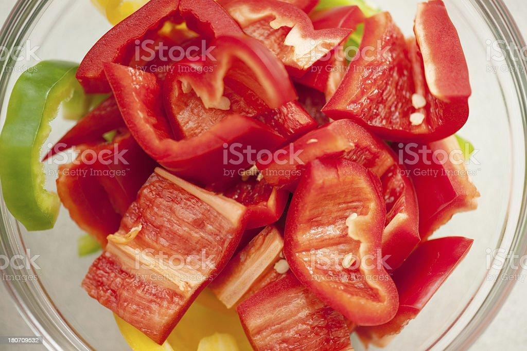 Fresh pepper royalty-free stock photo