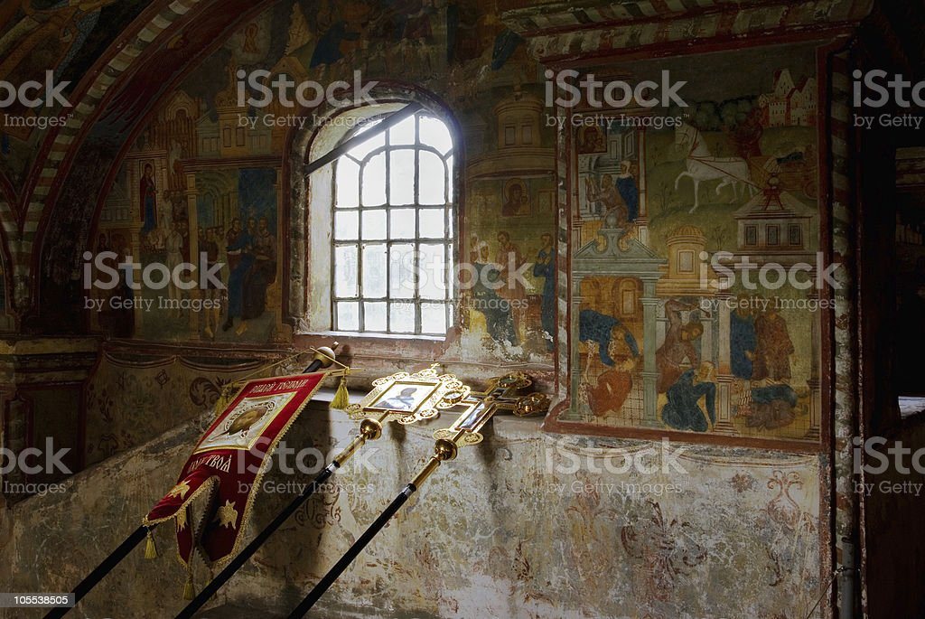 Fresco royalty-free stock photo