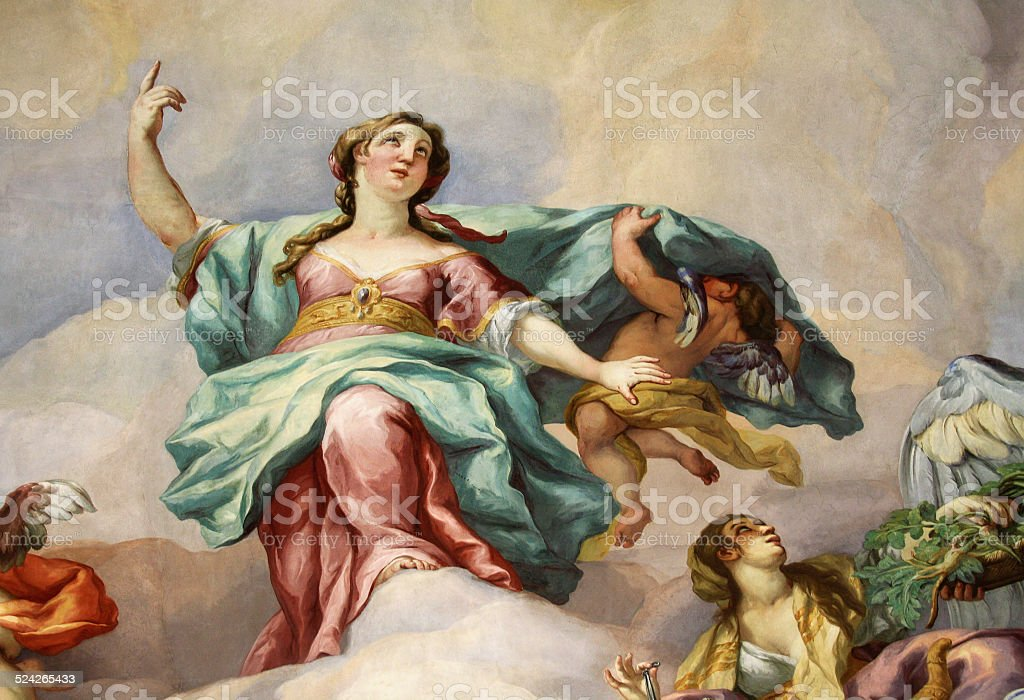 Fresco stock photo