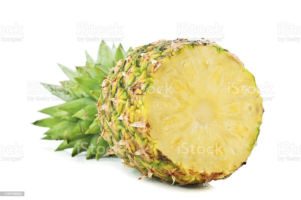 fresh pineapple royalty-free stock photo