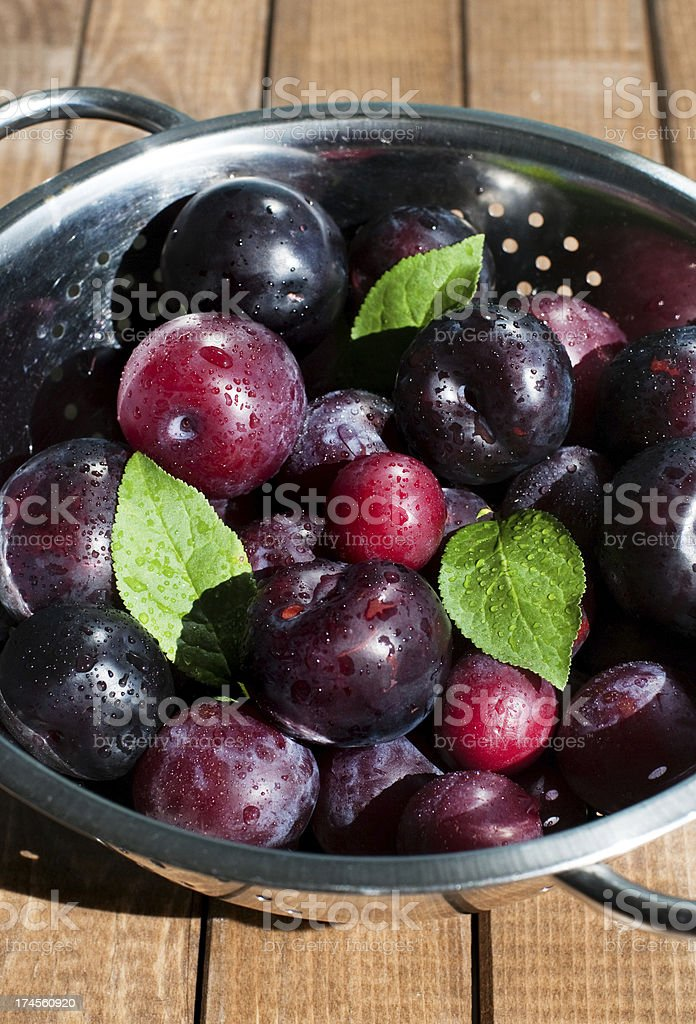Des prunes photo libre de droits
