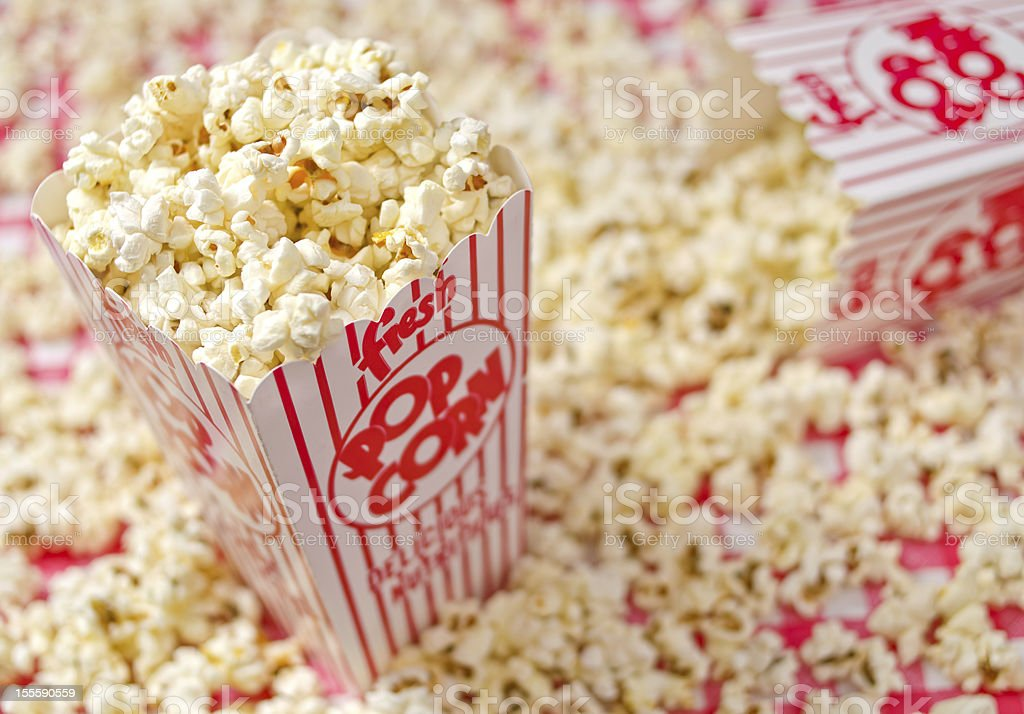 Fresh Popcorn royalty-free stock photo