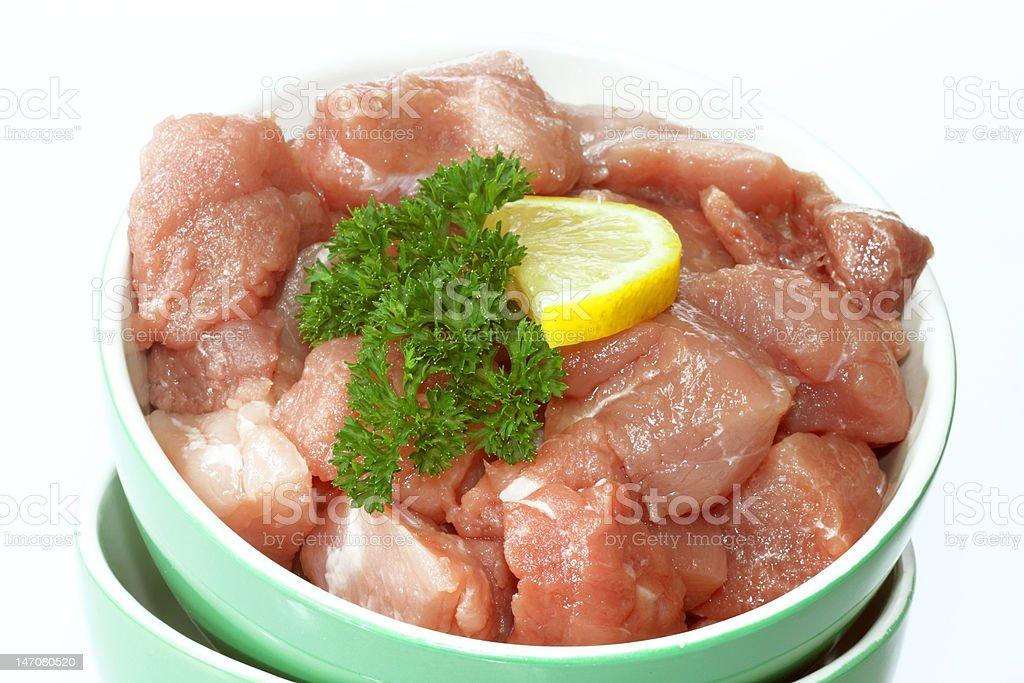 Fresh pork meat royalty-free stock photo