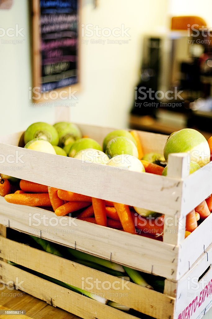 Fresh produce delivery royalty-free stock photo
