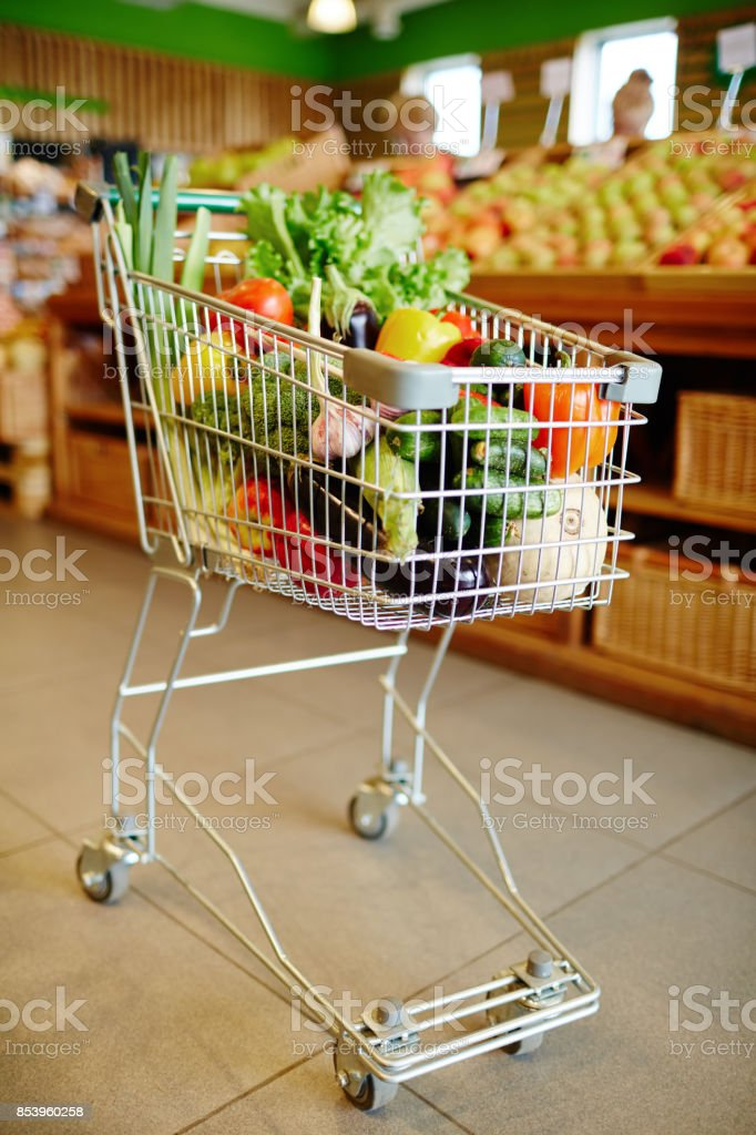 Fresh products stock photo