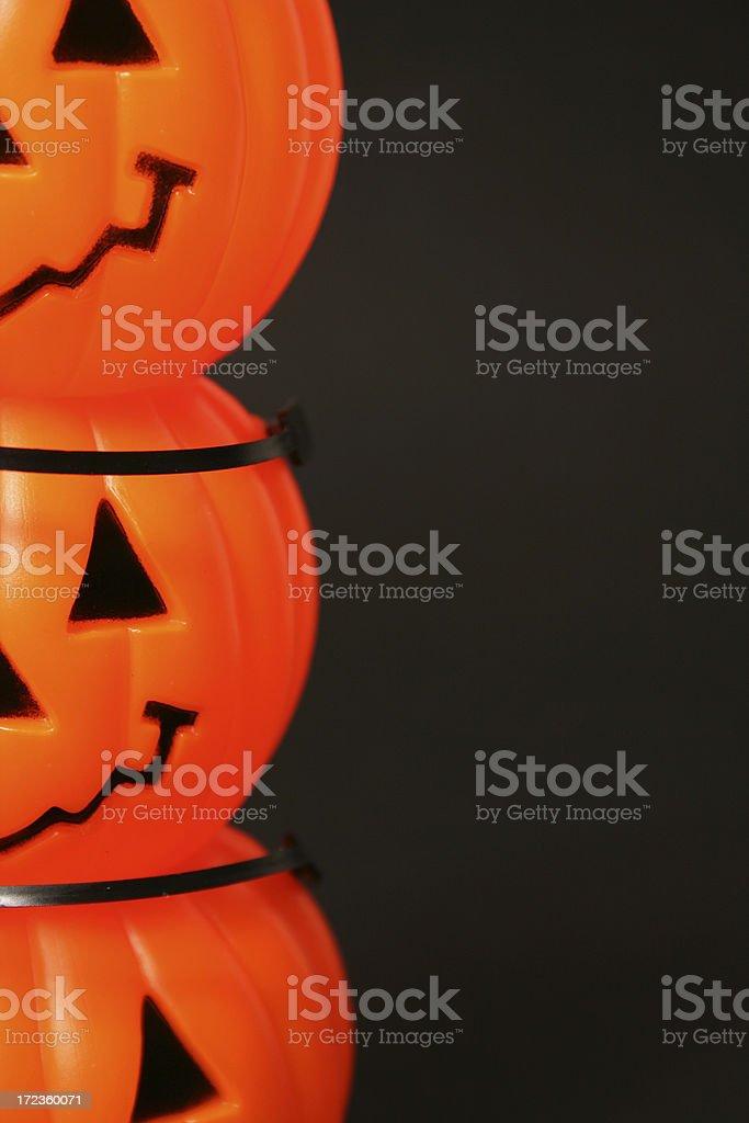 Fresh pumpkin on black royalty-free stock photo