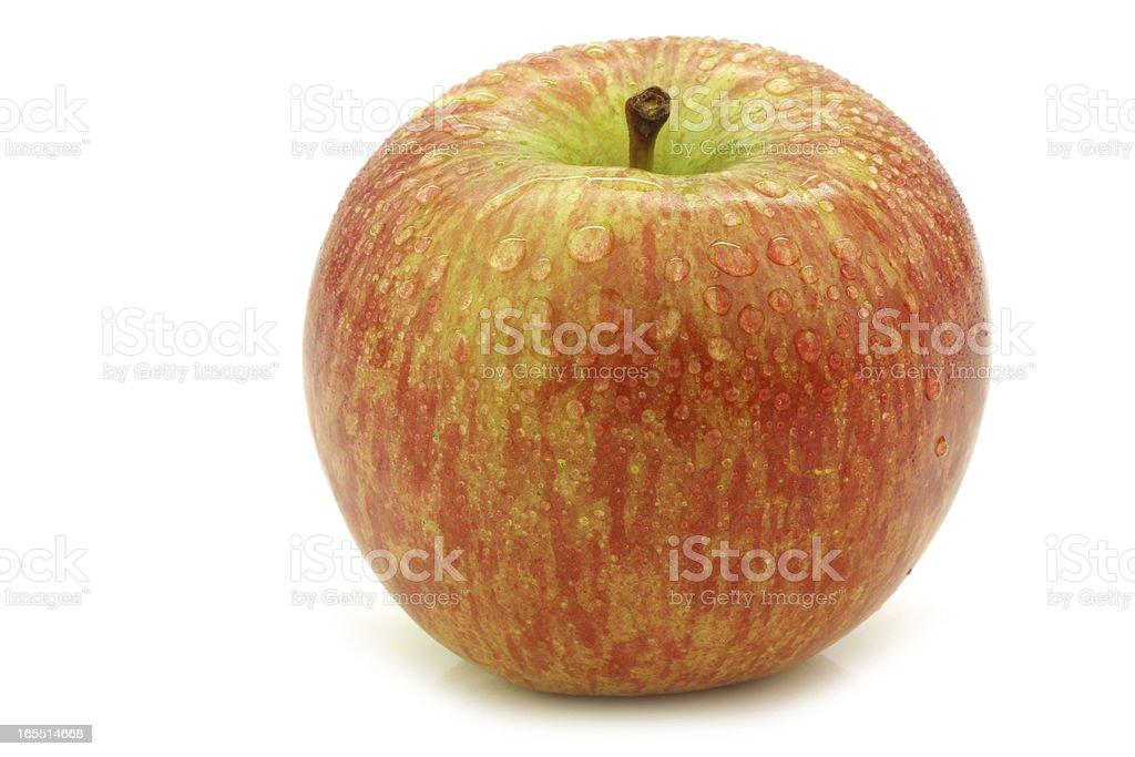 "fresh ""Fuji"" apple royalty-free stock photo"