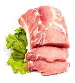 Fresh raw pork
