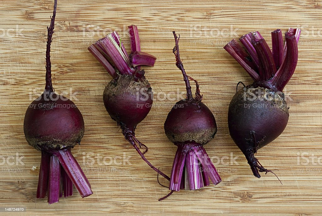 Fresh Red Beets stock photo