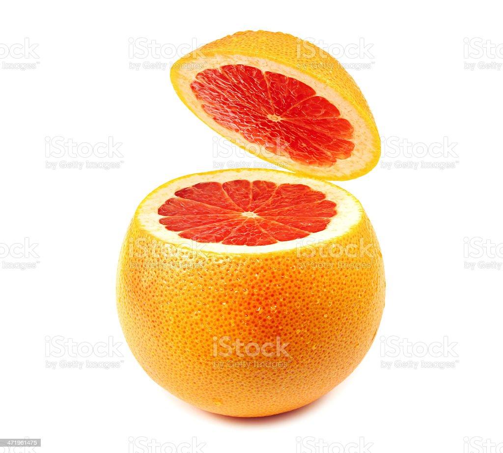 Pomelo rojo fresco foto de stock libre de derechos